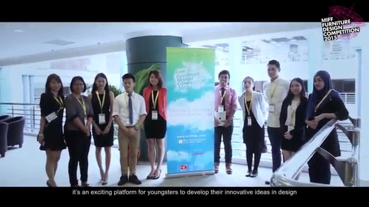 Furniture Design Competition 2017 miff furniture design competition 2015 (fdc) - youtube
