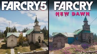 Far Cry: New Dawn vs Far Cry 5 | Direct Comparison