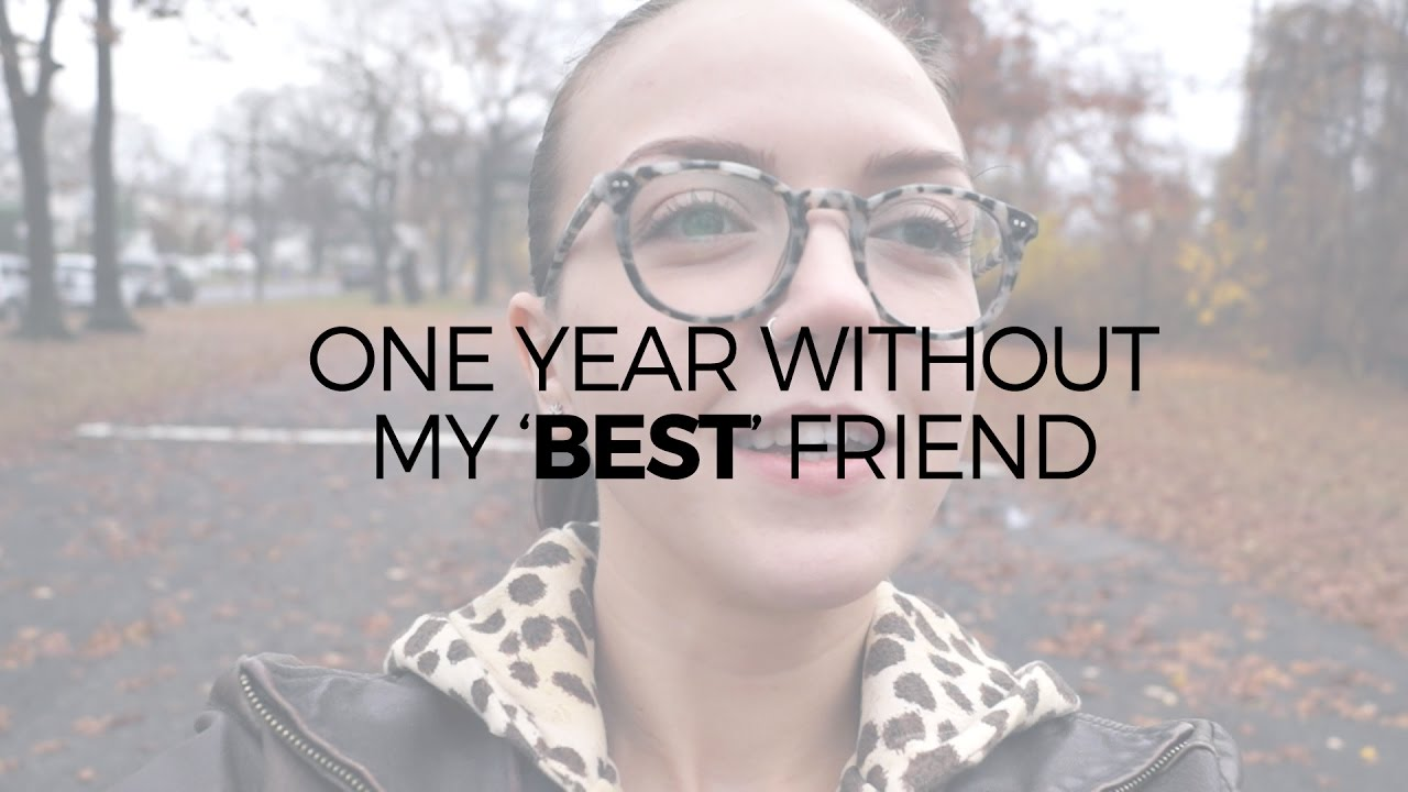 One Year After My Best Friend Dumped Me