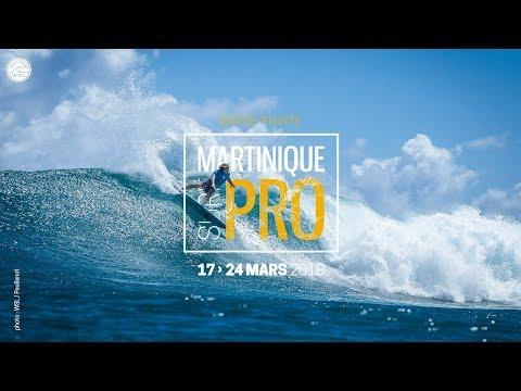 Diffusion en direct de Martinique Surfing
