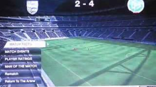 FIFA 10 Gameplay video (HIGH QUALITY) (65% build) PS3 & Xbox 360