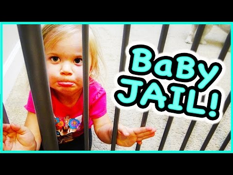 😜 BABY RORY GOES TO JAIL😜 AND WHAT'S IN OUR MYSTERY BAGS?!?! Family Vlog