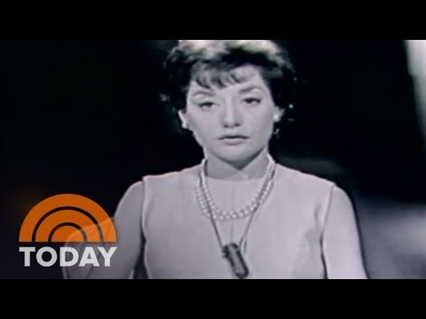 A Young Barbara Walters Returns From Paris | Archives | TODAY