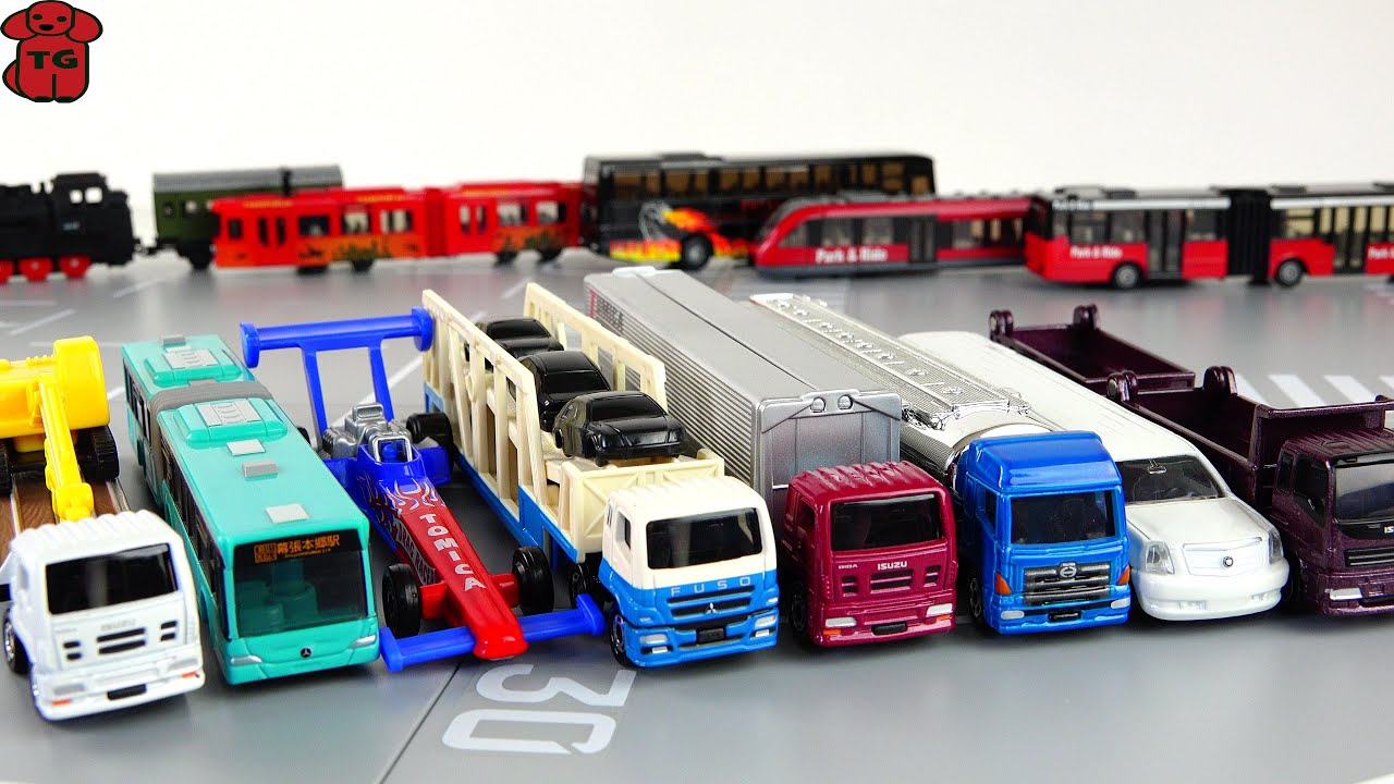 Takara Tomy Long Tomica Diecast Cars Collection Unboxing ...