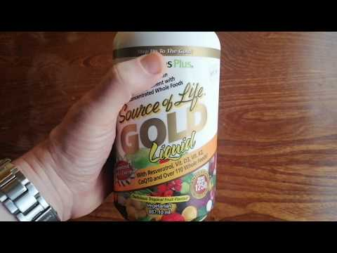 Natures Plus Source of Life Gold Liquid Review - Ultimate Multi Vitamin Food Supplement