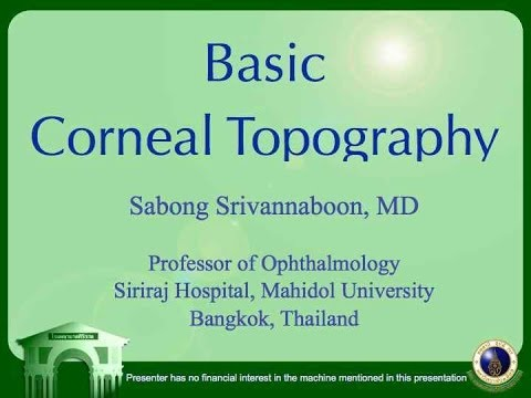 Basic Corneal Topography 2009 (for Technician)