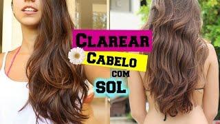 Como clarear o cabelo no verão - Fácil e Barato