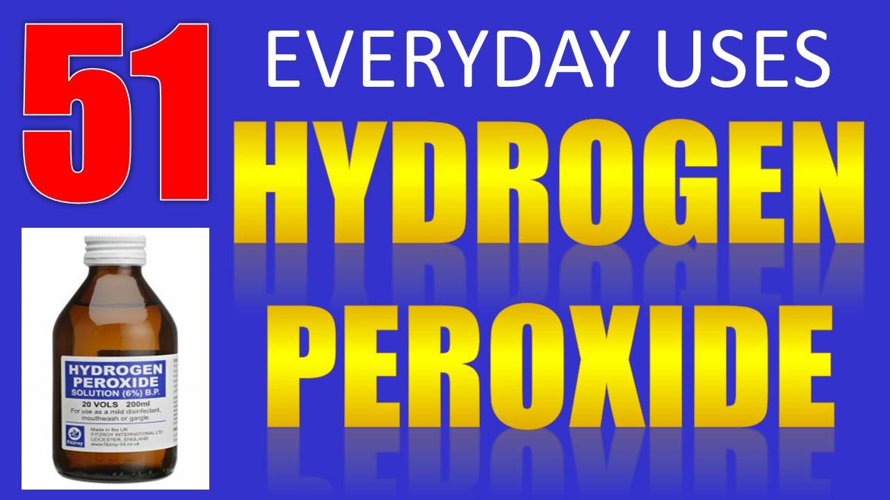 52 everyday uses benefits of hydrogen peroxide youtube