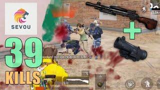 DP-28 IS THE BEST SNIPER!!! | 39 KILLS | SQUAD | PUBG Mobile