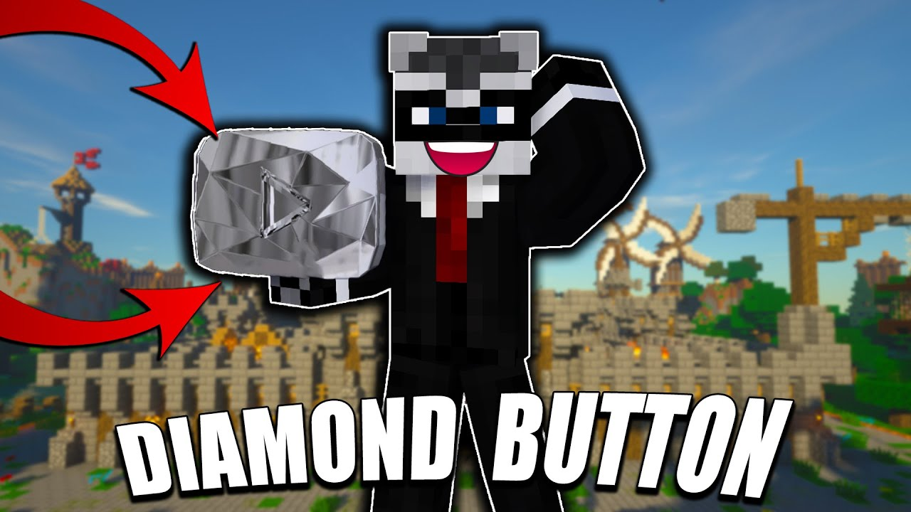DOBIO SAM DIAMOND PLAY BUTTON U MINECRAFTU ! | MINECRAFT LUCKY BLOCK