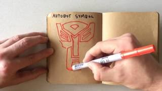How to Draw an Autobot Symbol