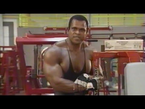 Serge Nubret Training Principles [1993 ESPN American Muscle Magazine]