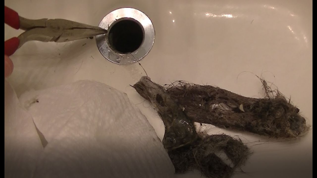 How To: Clogged Sink Drain Repair / Cleaning - Bathroom ...