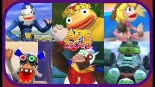 Ape Escape 2: The Movie: All Cutscenes