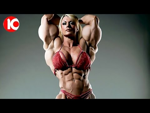 10 Extreme Female Bodybuilders 2017