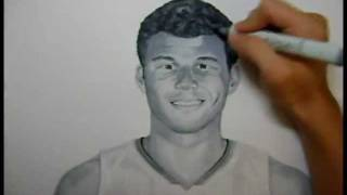 Blake Griffin Drawing by r3nd0s