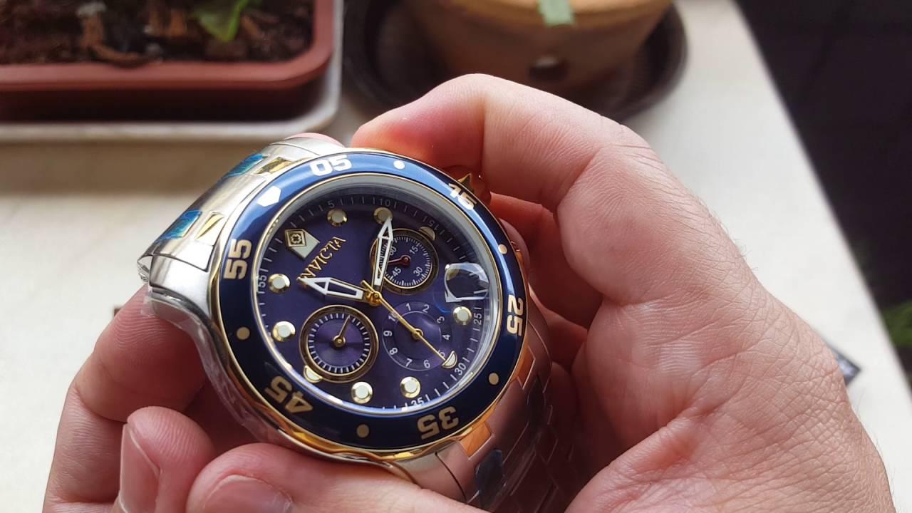 afce2ebc824 Relógio invicta pro diver 0077 cronógrafo original na altarelojoaria ...