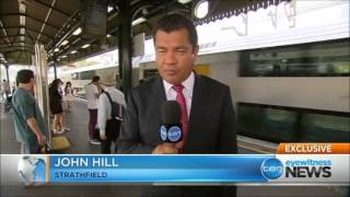 Ten Eyewitness News Sydney - New train timetable 'cannabilising' Inner West commuters (16/12/2013)