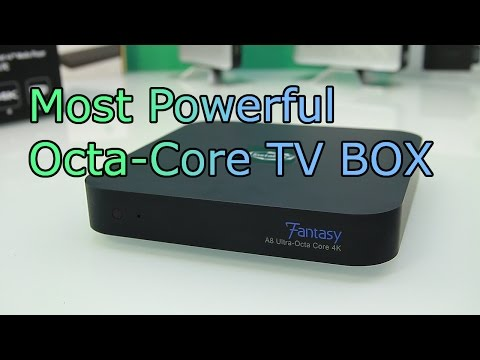 Instabox Fantasy Review - Fastest 4K Android TV Box - Octa Core + 64core GPU - Sata Station [HD]