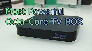 Instabox Fantasy Review - Fastest 4K Android TV Box - Octa Core + 64core GPU - Sata Station [HD]