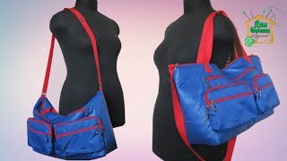 Шьем дорожную сумку своими руками / Сумка через плечо / МК от SvGasporovich