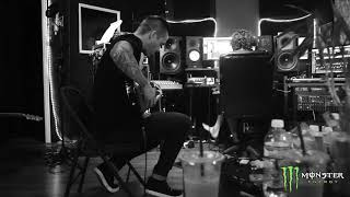 Papa Roach in the studio recording Crooked Teeth