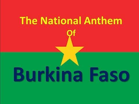 The National Anthem of Burkina Faso instrumental with lyrics (Une Seule Nuit)