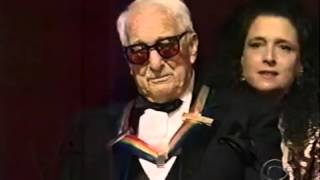 Victor Borge - Honored by Kennedy Center, Lifetime Achievement 1999