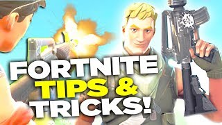 5 TIPS and TRICKS for New Players - Fortnite Battle Royale