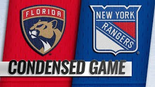 11/17/18 Condensed Game: Panthers @ Rangers