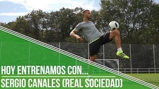 Hoy entrenamos con... Sergio Canales (Real Sociedad)