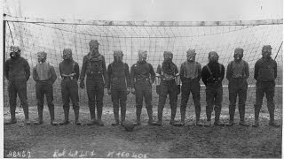 Gas mask football challenges!