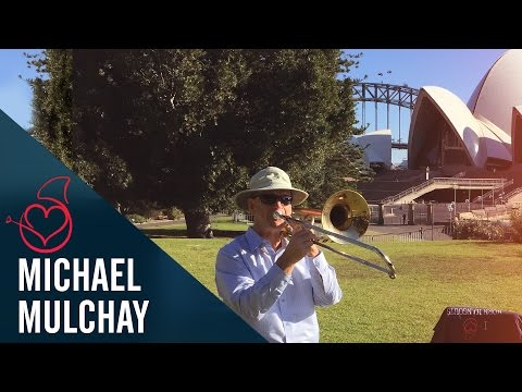 Michael Mulcahy live from Sydney on Sarah´s Horn Hangouts