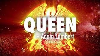 Queen + Adam Lambert Hartwall Arenalla 19.11.2017 - Liput nyt myynnissä!