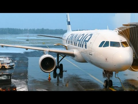 AY364 Finnair flight from Oulu to Helsinki - A320 OH-LXA
