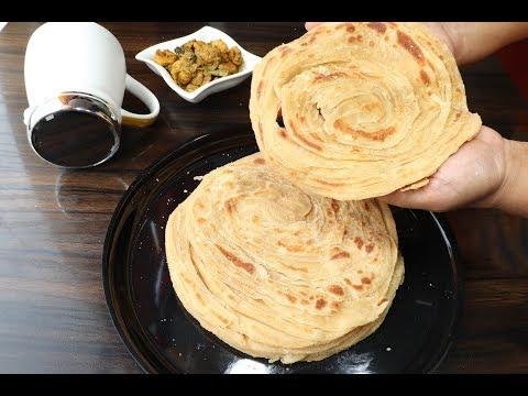 ഗോതമ്പ് പൊറോട്ട ഇനി സോഫ്റ്റായി ഉണ്ടാക്കാം/Wheat Parotta/Porotta/Paratha/Soft/Neethas Tasteland | 544