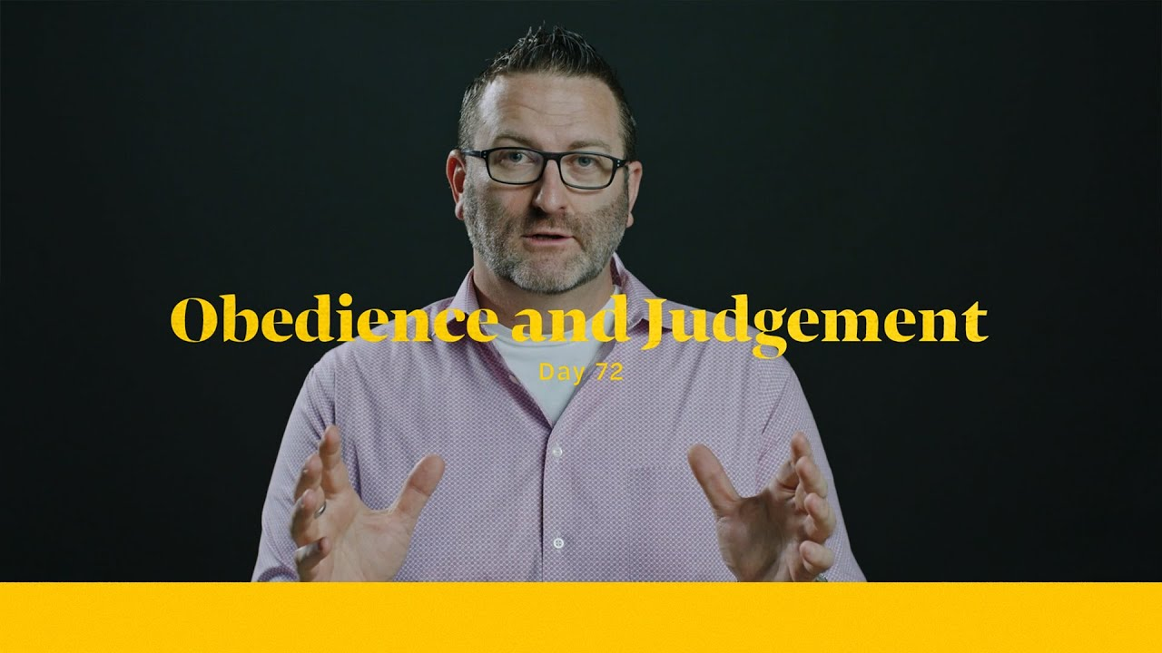 Obedience and Judgement