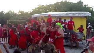 Grenada Red Dress Hash - Feb. 15, 2014