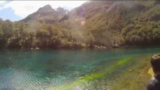 clearest lake in the world - the blue lake
