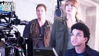 JURASSIC WORLD: FALLEN KINGDOM Find out how they made the movie