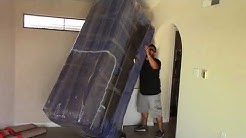 Moving a Sofa from the third floor apartment