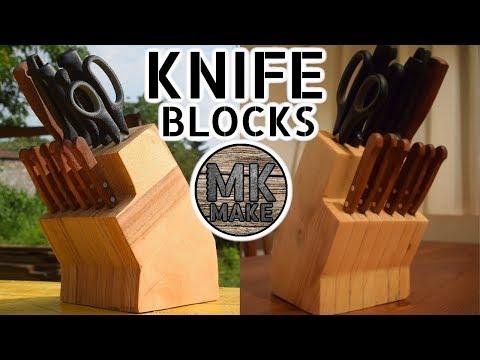 DIY Knife Block (or two)