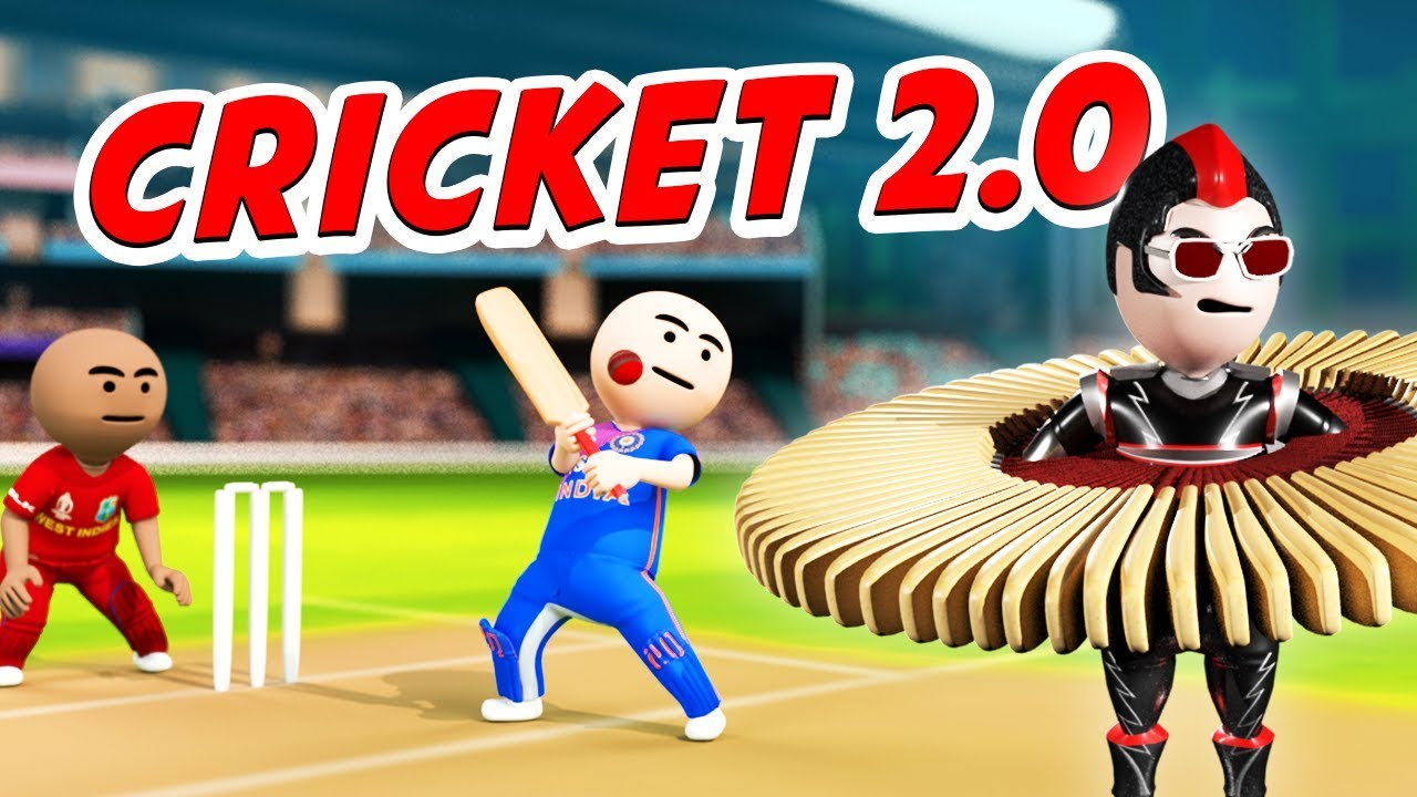 3D ANIM COMEDY -  CRICKET KA MAHAYUDH | CHITTI 2.0 VS WESTINDIES