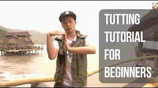 Tutting tutorial for beginners / Урок танца Таттинг (tutting/king tut) для начинающих