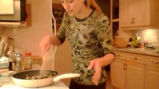 How To Cook Mushrooms With Port Wine & Balsamic Sauce: Cooking With Kimberly