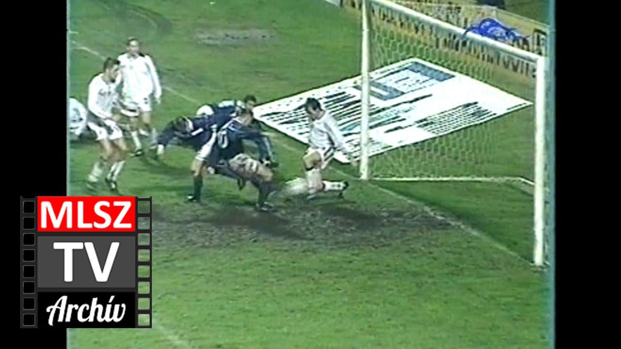 Újpest-Ferencváros | 2-2 | 1999. 10. 25 | MLSZ TV Archív
