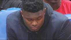 Zion Williamson Can't Stop Sleeping During Pelicans Games (How Zion Watches Pelicans)