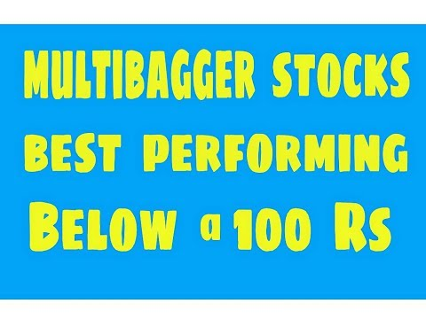 Fundamental multibagger best performing stocks below @ 100 Rs