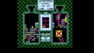 Dr. Mario NES (2 player gameplay)