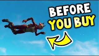 Before you Buy TRICERA OPS! - FORTNITE - Why YOU should SAVE your V-BUCKS! - SKIN Review Video!